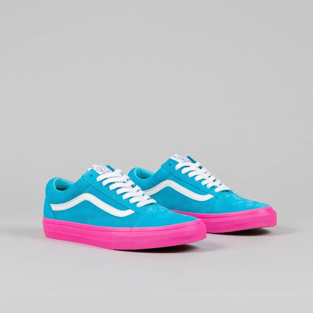 Vans Syndicate Old Skool Pro 'S' (Golf Wang) Blue/Pink ...