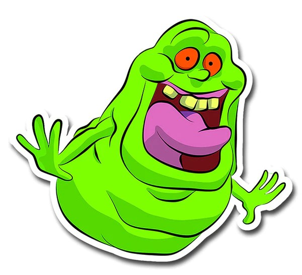 Ghostbusters Slimer Cartoon