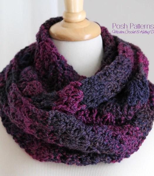 Basic Slouchy Hat Chunky Yarn Crochet