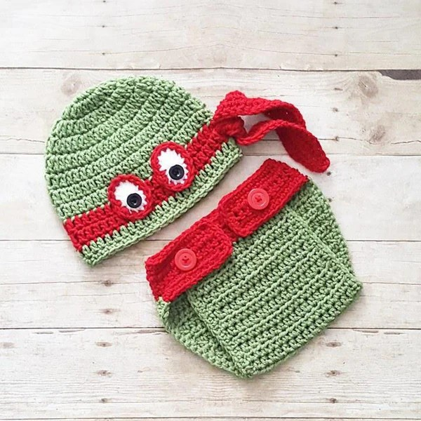 And Diaper Hat Cover Thanksgiving Crochet