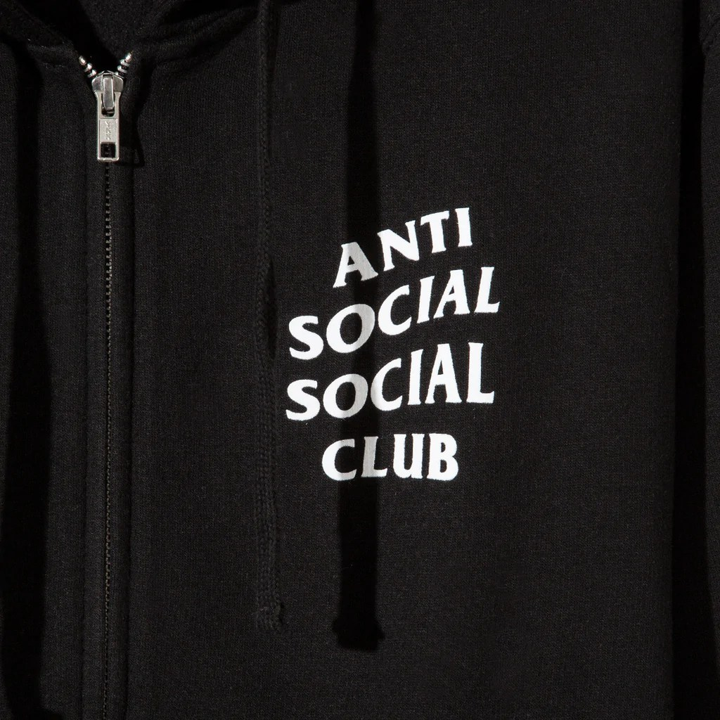 Mind Games Zip Up Hoodie     AntiSocialSocialClub     Mind Games Zip Up Hoodie