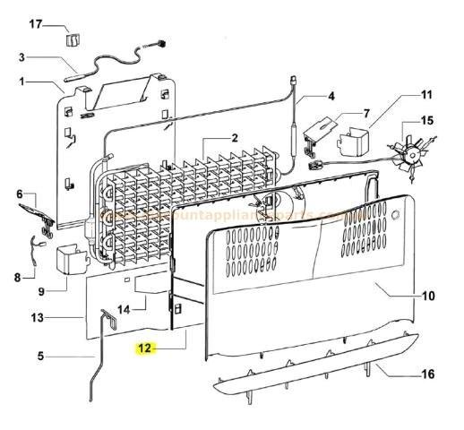 Fisher Amp Paykel Refrigerator Freezer Fan Motor Kit Part