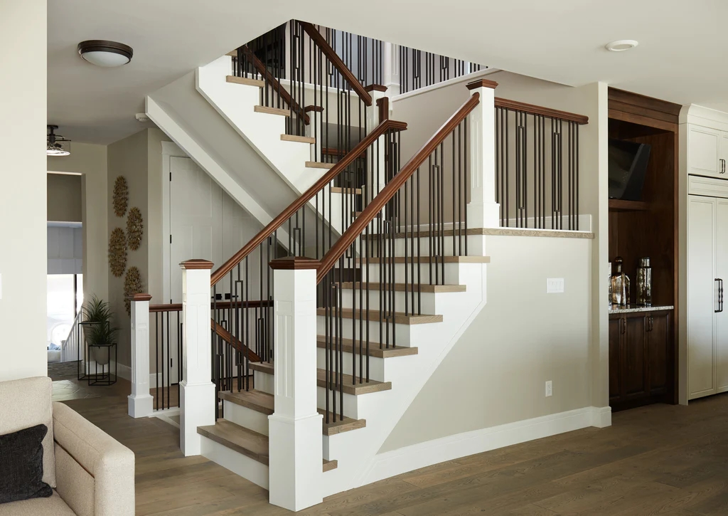 Guide 4 Ingredients To Define Your Personal Stair Railing Style   Metal And Wood Stairs   Straight   Diy   Residential   Rustic   Stair Railing