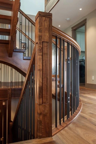 Guide 4 Ingredients To Define Your Personal Stair Railing   Craftsman Style Stair Railing