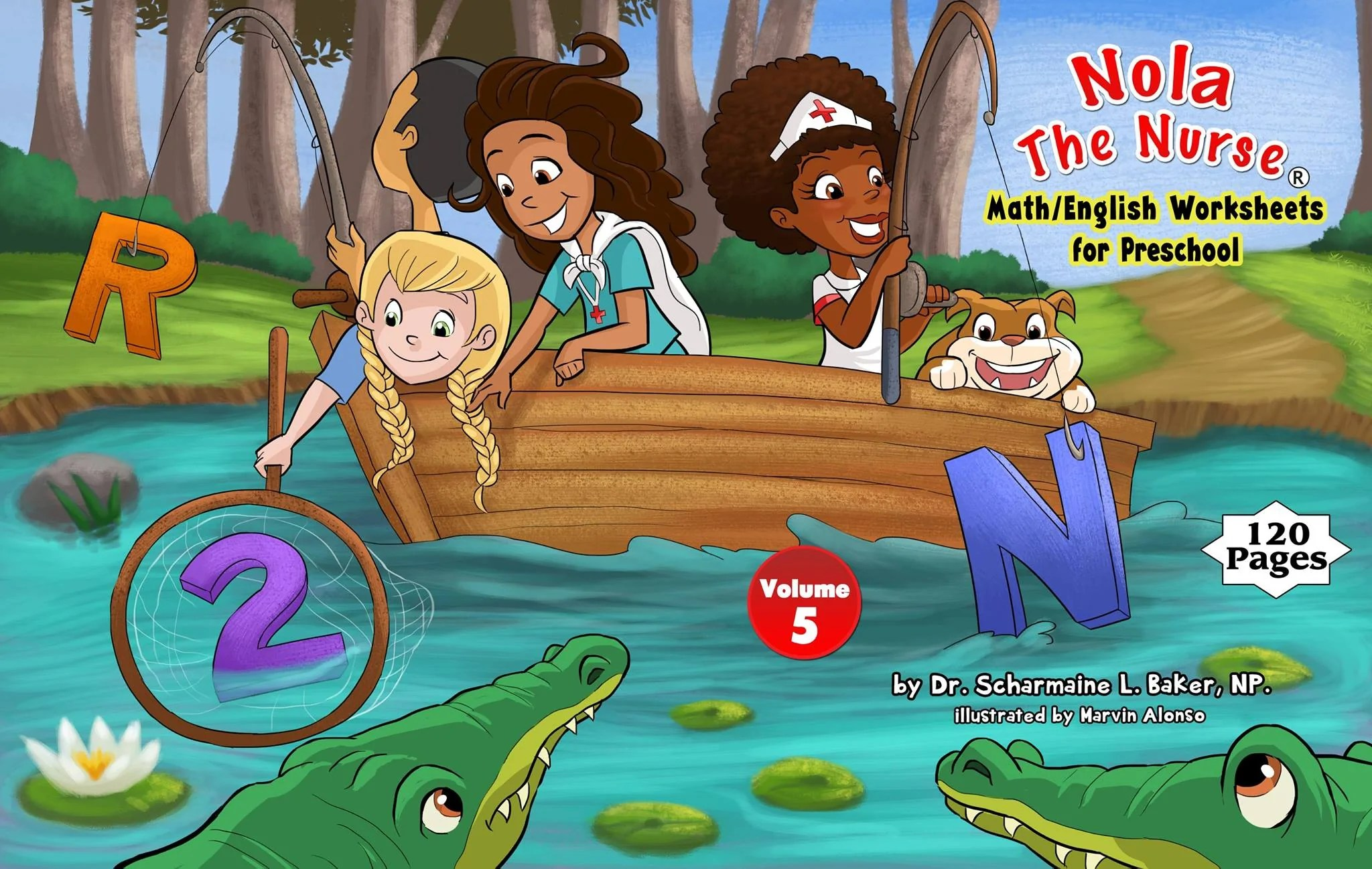Nola the Nurse     Math English Worksheets for Preschool Vol  5     Nola     Nola the Nurse     Math English Worksheets for Preschool Vol  5