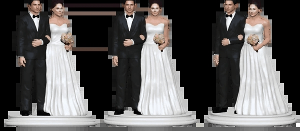 wedding cake toppers  raquo  Wedding Cake Topper Figurine