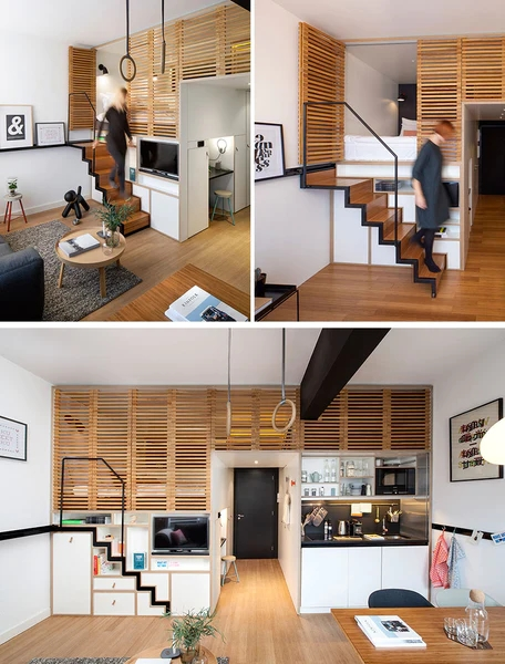 10 Stair Design Ideas For Small Spaces | Stairs For Small Spaces | Modern | Living Room | Beautiful | Design | Metal