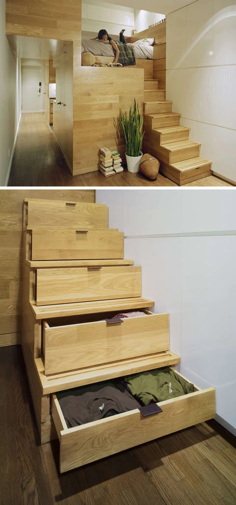 10 Stair Design Ideas For Small Spaces | Stairs Design For Small Space | Steel | Space Saving | Limited Space | Unique | Residential