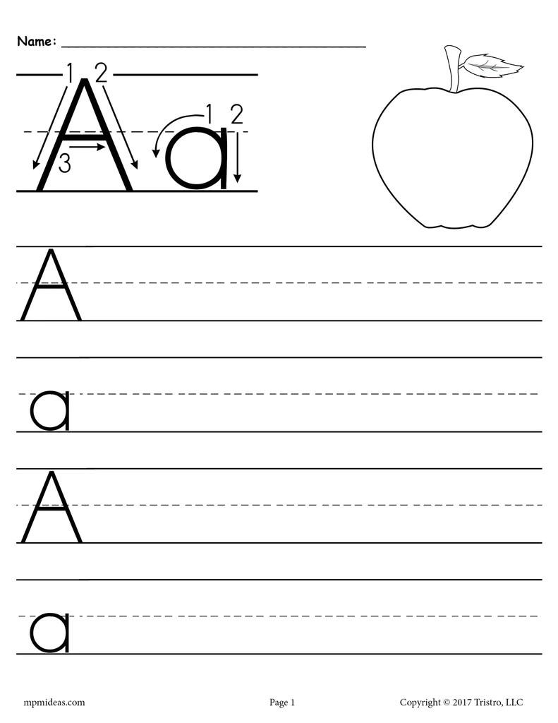 Worksheets Uppercase Alphabet Copy