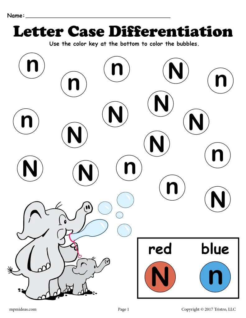 Upper Lower Case Letter Recognition