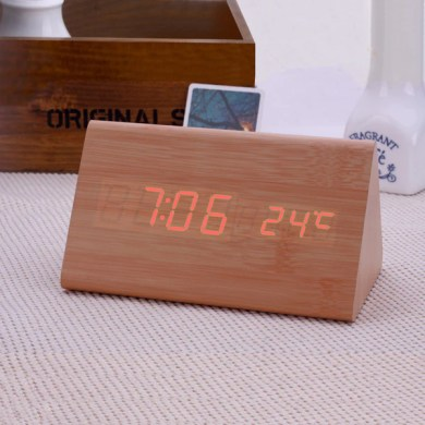 Decorative table clocks Control Sensing Alarm Clock   Buycoolprice