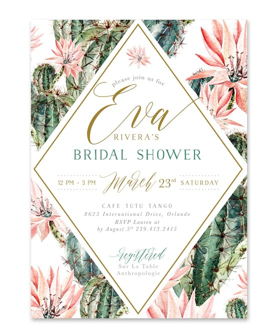 Bridal Shower Invitations Next Day Shipping