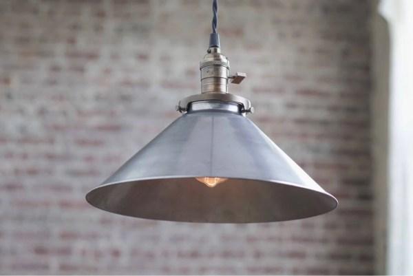 wide industrial pendant lighting # 19
