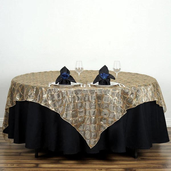 85x85 Square Tablecloths