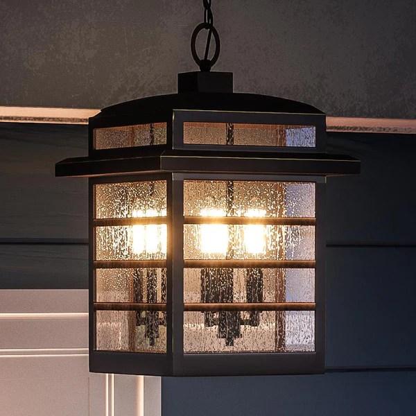 craftsman style outdoor pendant lighting # 48