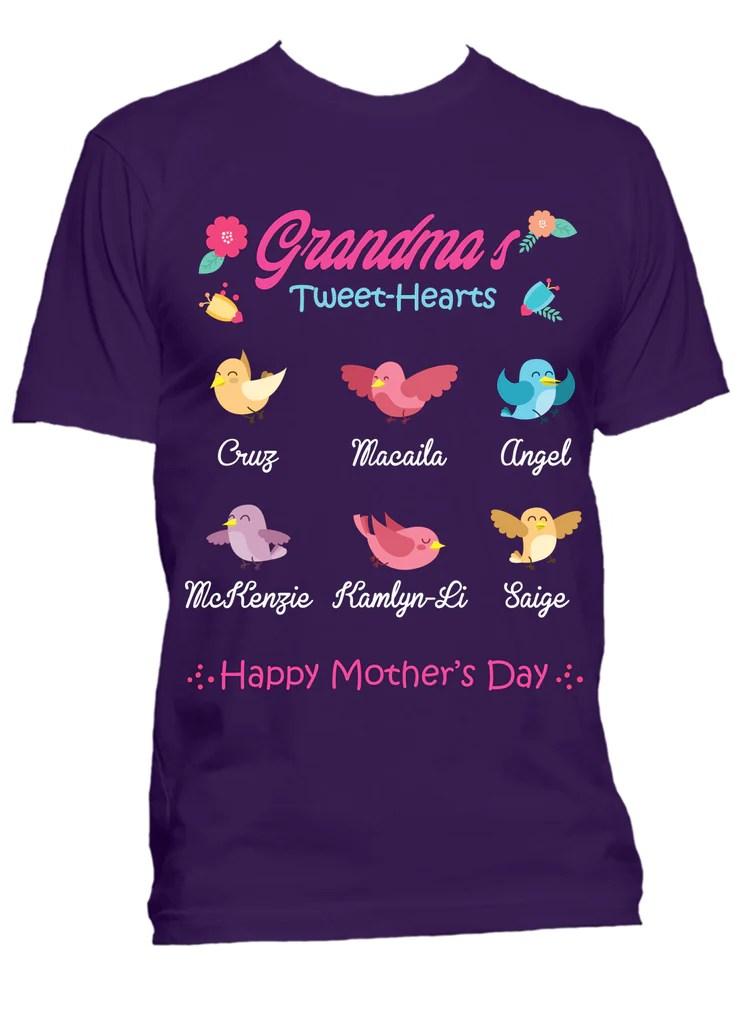 T Grandma S Shirts Personalized
