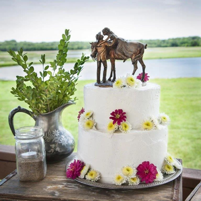 Cowboy and Cowgirl Wedding Cake Topper    First Love  Western     Cowboy and Cowgirl Wedding Cake Topper    First Love  Western Wedding Cake  Topper     Wild West Living