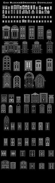 70 Types Of Best Door Design Ideas Cad Design Free Cad