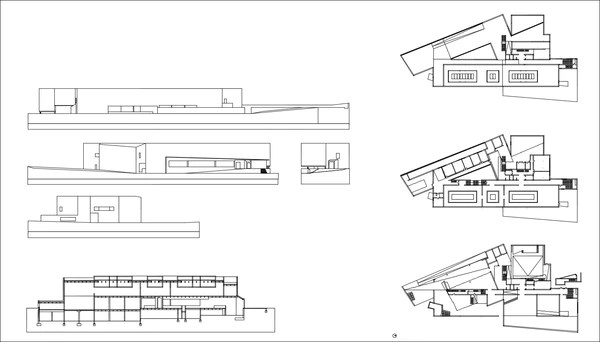 Alvaro Siza Galicia Museum Of Contemporary Art Cad