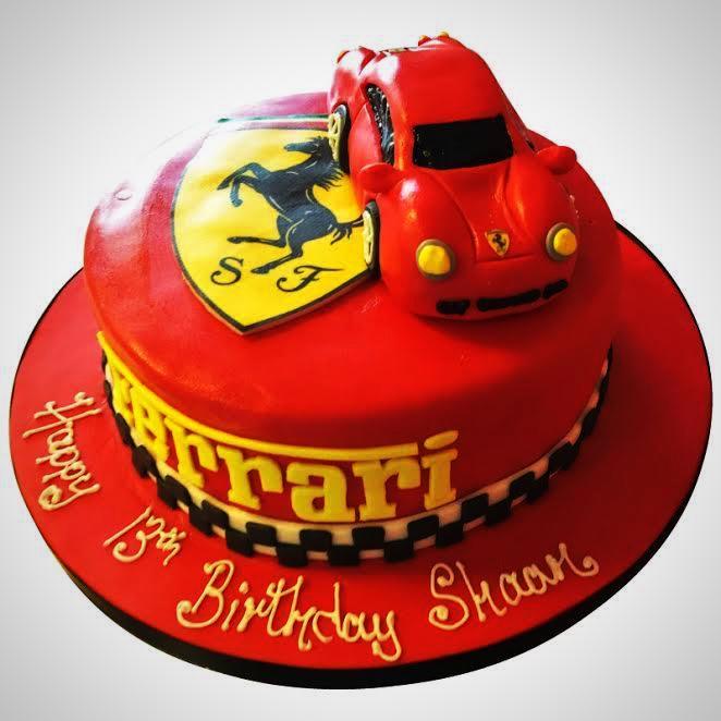 Ferrari Cake New Cakes