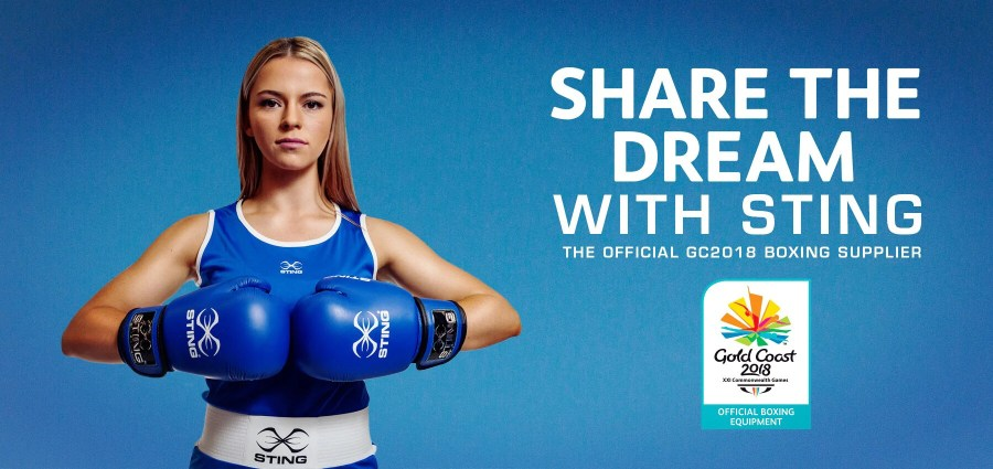 STING GOES FOR GOLD IN GC2018   Sting Sports Australia STING GOES FOR GOLD IN GC2018