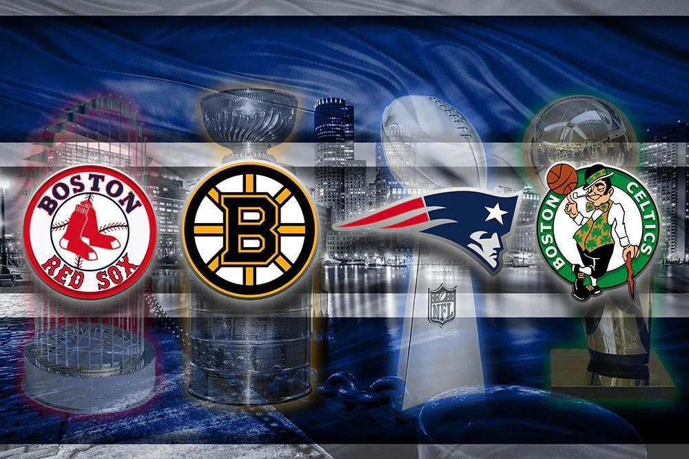 Bruins Patriots Boston Celtics Sox Boston Red