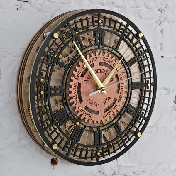 Buy Big Ben Automaton Wall Clock At Woodandroot For Only