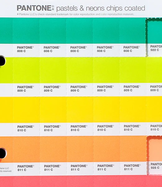 Buy Pantone Pastels & Neons Chips Coated Replacement Page ...