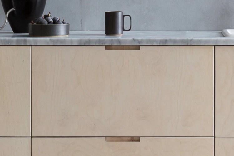 Birch Plywood Wood Kitchen Wardrobe Sideboard Doors