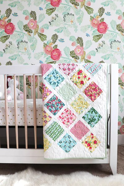 Baby Lattice Quilt Pdf Version Amy Smart Diary Of A