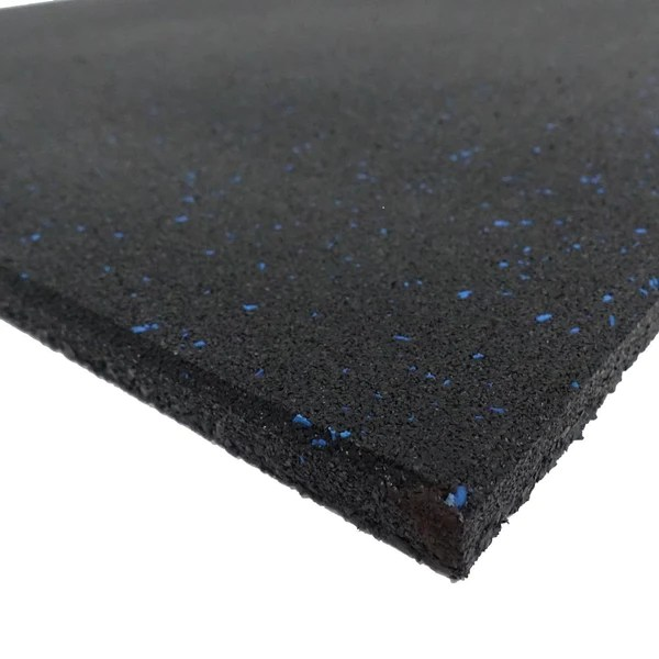 Home Amp Fitness Rubber Flooring Tile 1m X 1m X 15mm With 6