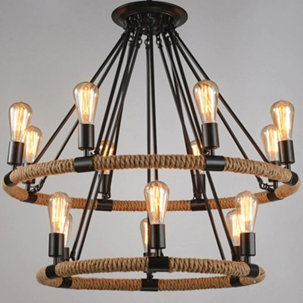 pendant lighting with rope # 82