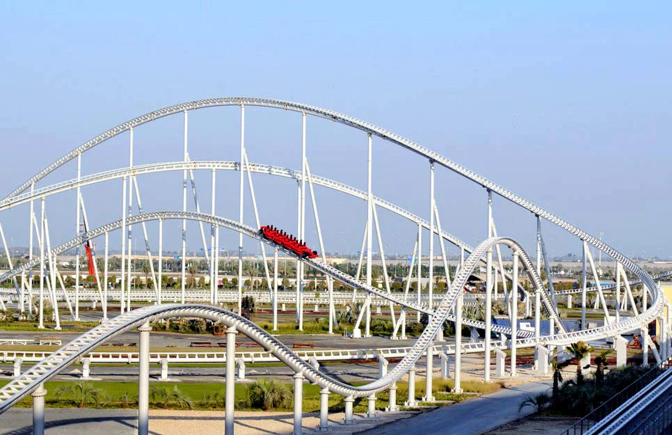 world's fastest roller coaster - 966×625