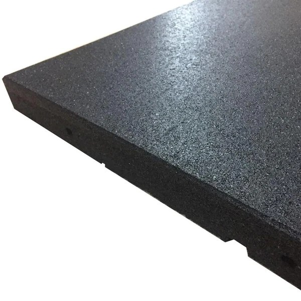 Square Tile High Density Rubber Shock Absorbing Gym Mat
