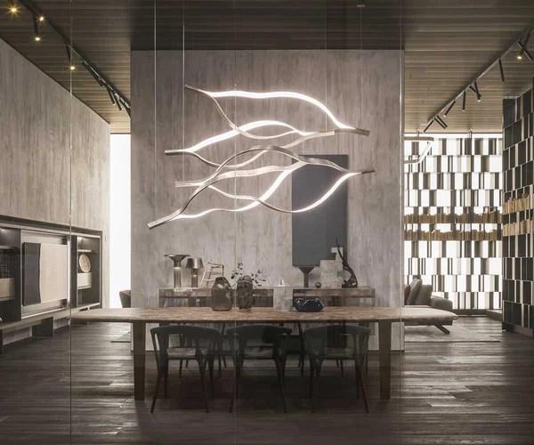 Tape Light Suspension Henge Casa Design Group