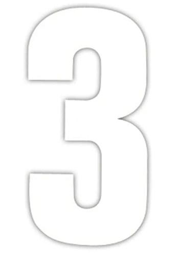 number 3 # 46
