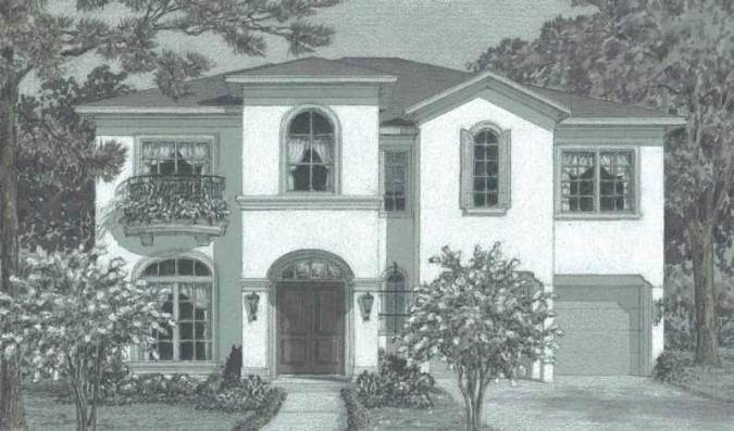 Urban Home Design  Three Story Inner City House Floor Plans     Urban House Plan D4073