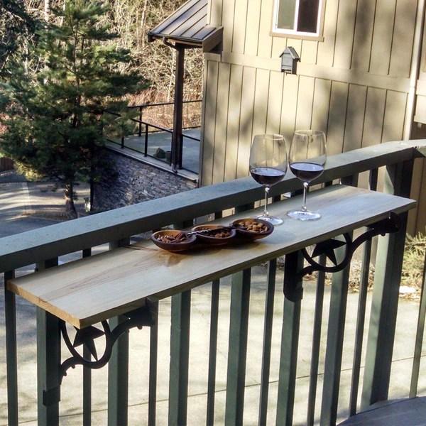 Deck Railing Table Plans