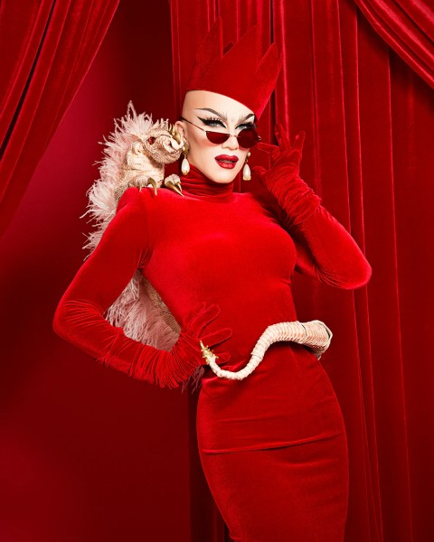 Red Queen Print   House of Velour Sasha Velour Red Queen Print