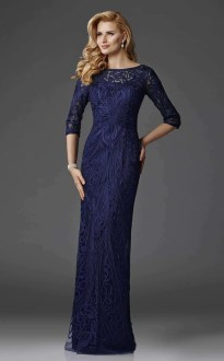 Designer Mother of the Bride   Groom Dresses   Shop Online Clarisse M6424 Navy