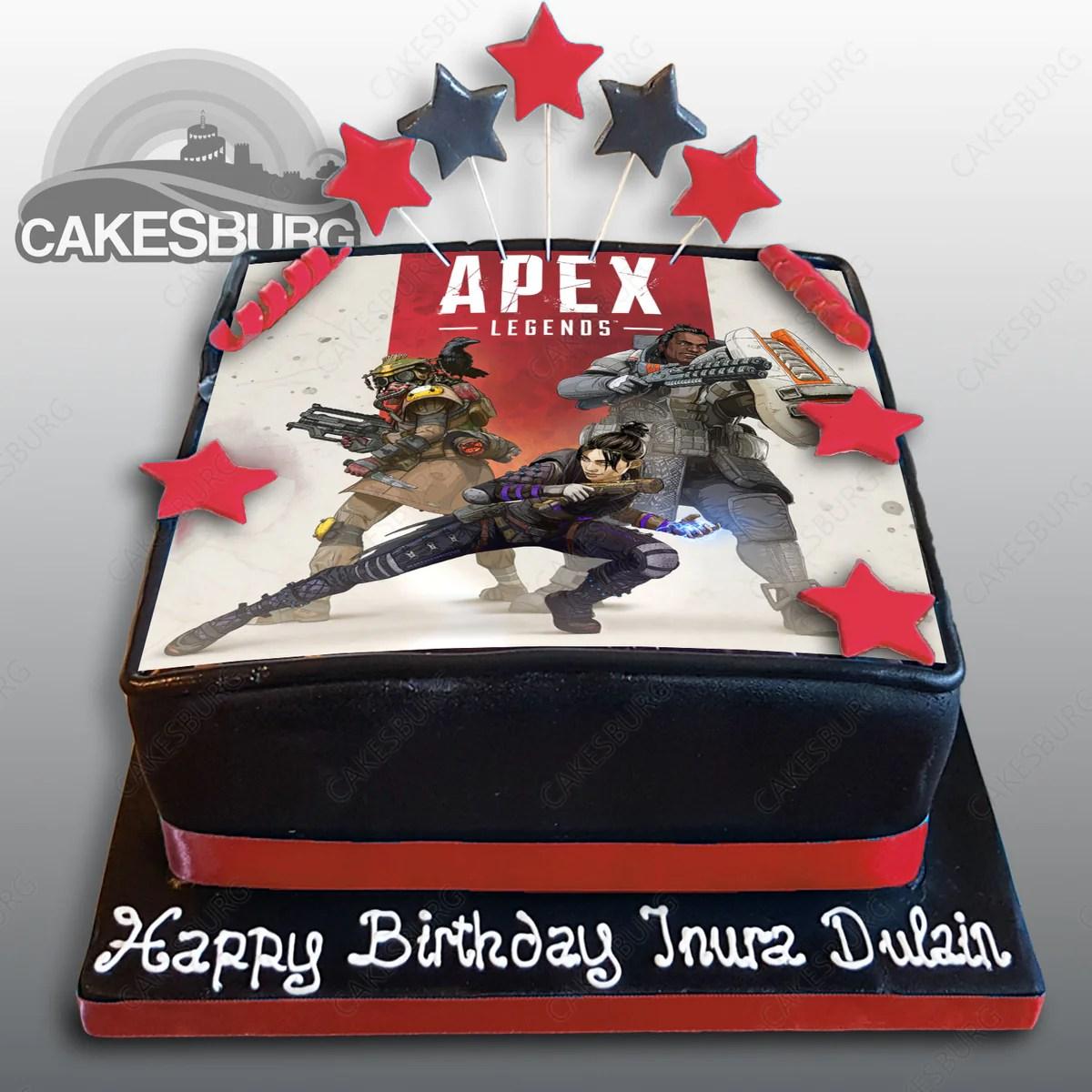 Apex Legends Cake Cakesburg