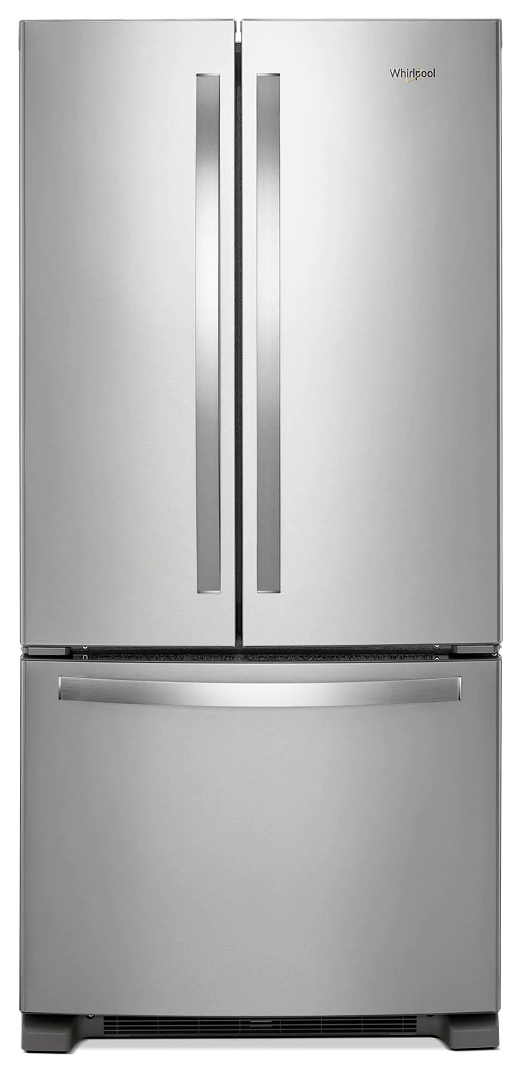 Whirlpool 174 22 Cu Ft French Door Refrigerator With Print