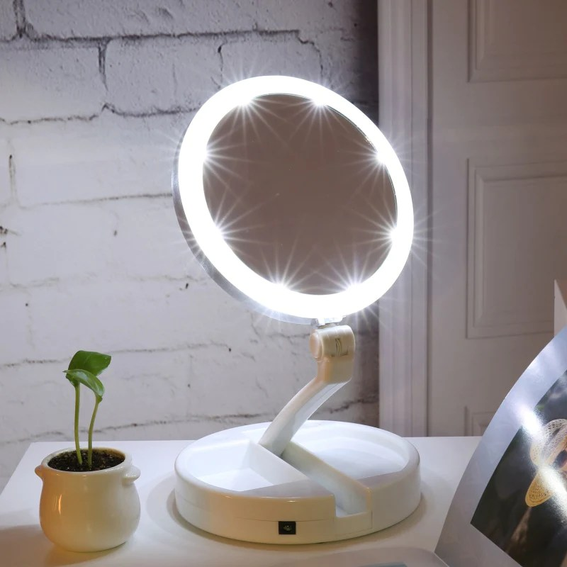 Travel Vanity Mirror Lights