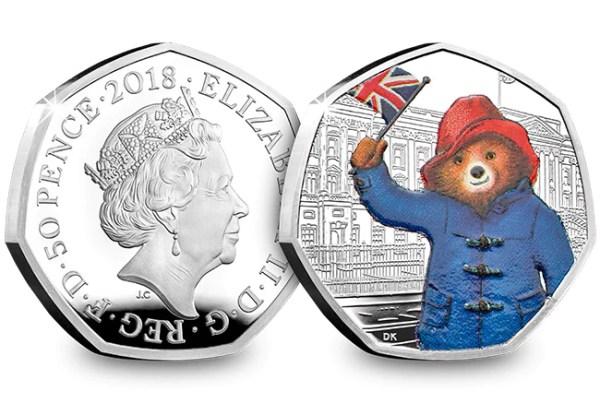 paddington bear 50p coins # 10