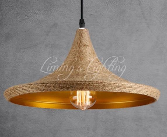 pendant lighting with rope # 66