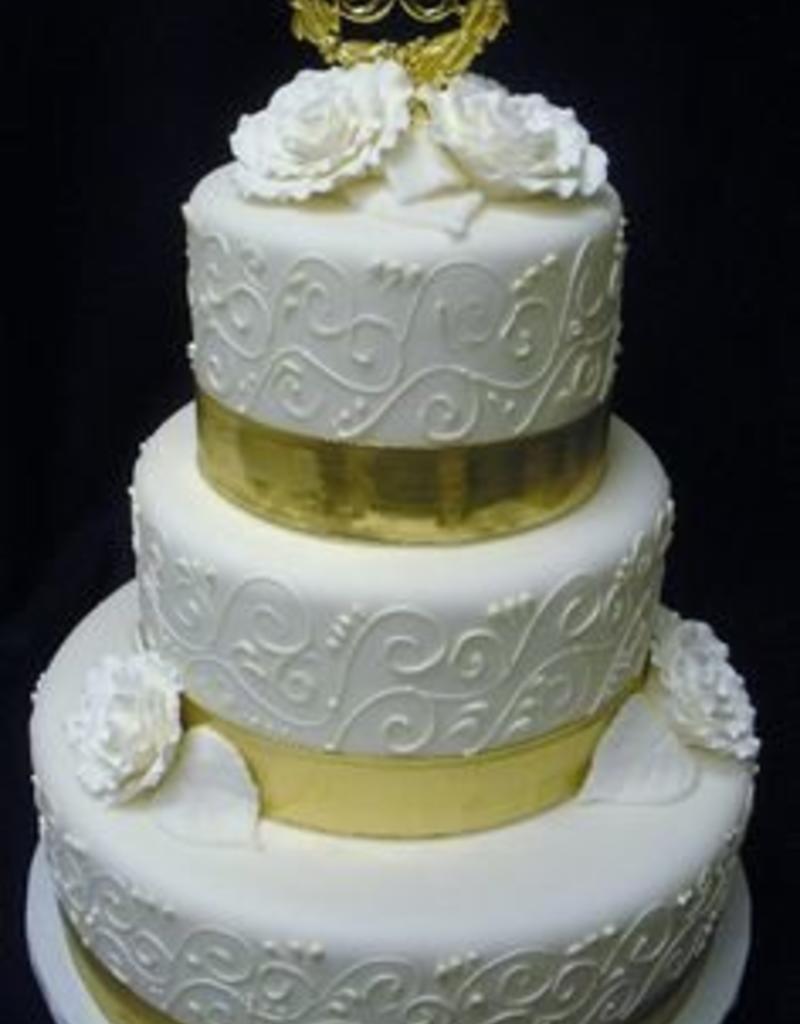 Parrish Magic Line 50th Anniversary Cake Plaque Sweet