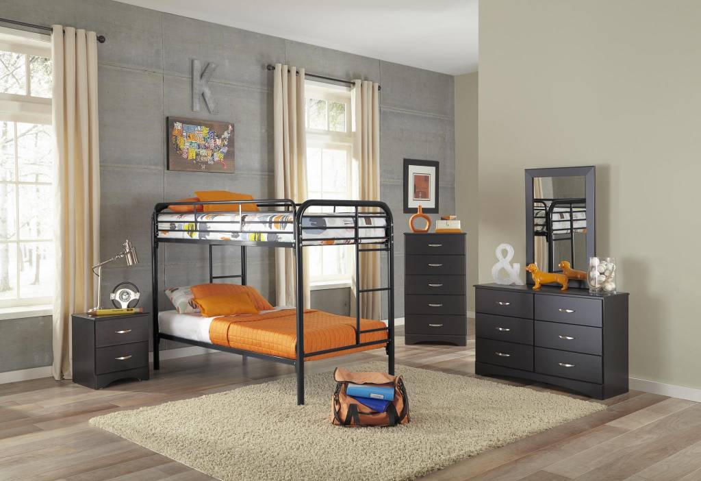 Metal Twin Twin Bunkbed R Amp B Furniture