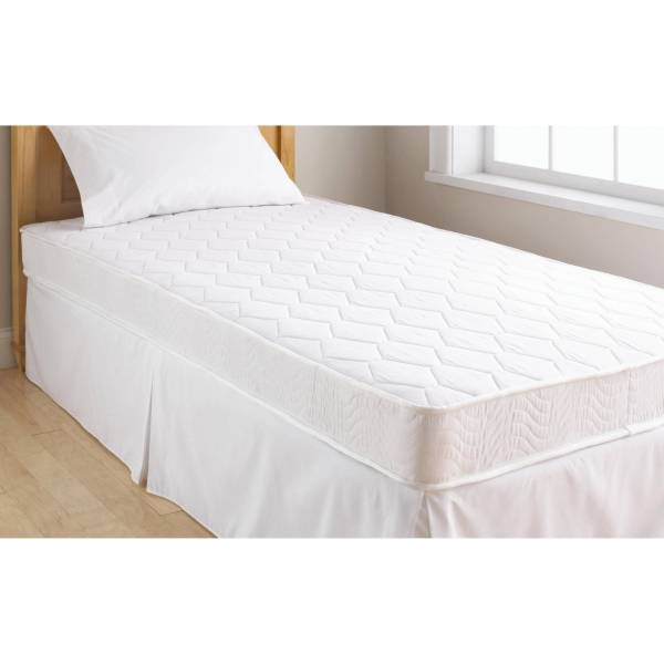 Mainstays 6 Coil Mattress Twin Size and Your Choice of Bedding Set     Picture 7 of 9