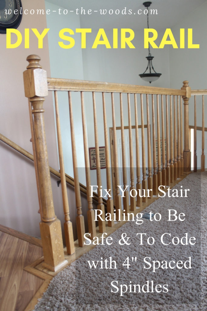 Diy Stair Railing Safety Redo   Spindle Stairs Railings   Stair Treads   Wood   Stair Parts   Iron Stair   Espresso