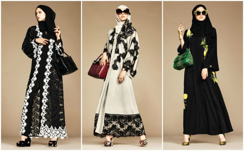 Model Baju Renda Abaya 5